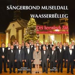 """De Sängerbond Museldall veröffentlicht seng nei Krëst-CD """"Déi heemlech Zäit"""" op der Gemeng"""