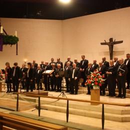 De Sängerbond Museldall zu Heidelberg fir den éischten Advent