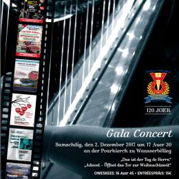 02/12/2017 Gala Concert 120 Joer – Chorale Municipale Sängerbond Museldall Waasserbëlleg