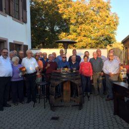 80 Joar Feier vun iisem Sänger Ferd BAUER